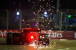 September 15, 2018 - Singapore, Singapore - Motorsports: FIA Formula One World Championship 2018, Grand Prix of Singapore, .#7 Kimi Raikkonen (FIN, Scuderia Ferrari) (Credit Image: © Hoch Zwei via ZUMA Wire)
