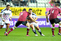 Davit Kubriashvili - 11.12.2014 - Stade Francais / Newcastle Falcons - European Rugby Challenge Cup<br />Photo : Andre Ferreira / Icon Sport