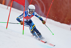 JENSEN Patrick Guide: FALK Lara, B2, AUS at 2018 World Para Alpine Skiing Cup, Kranjska Gora, Slovenia