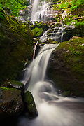 Chiprovtsi Waterfall in West Balkan Mountains