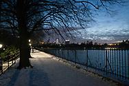 The Reservoir in Central Park.