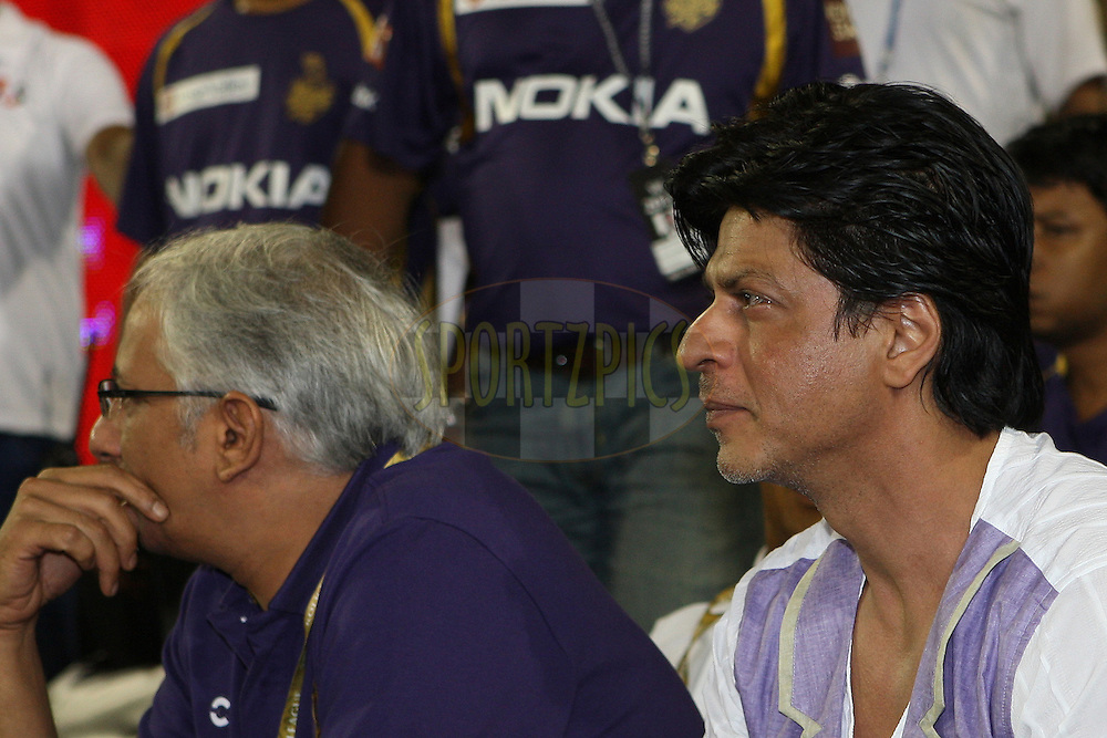 during match 29 of the the Indian Premier League ( IPL) 2012  between The Deccan Chargers and the Kolkata Knight Riders held at the Barabati Stadium, Cuttack on the 22nd April 2012..Photo by: Jacques Rossouw/IPL/SPORTZPICS