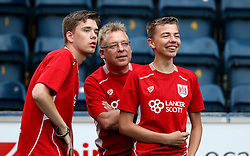 Bristol City fans - Mandatory by-line: Robbie Stephenson/JMP - 09/08/2016 - FOOTBALL - Adams Park - High Wycombe, England - Wycombe Wanderers v Bristol City - EFL League Cup
