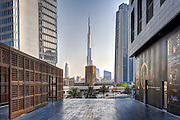 Burj Khalifa from the DIFC - Dubai, U.A.E.