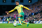 Norwich City midfielder Josh Murphy (31) in action  during the EFL Sky Bet Championship match between Norwich City and Brighton and Hove Albion at Carrow Road, Norwich, England on 21 April 2017. Photo by Simon Davies.