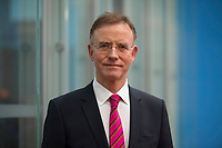 DEU, Deutschland, Germany, Berlin,03.01.2018: Portrait Dr. Gerd Landsberg, Geschäftsführendes Präsidialmitglied DStGB, in der Bundespressekonferenz anlässlich der Bilanz-Pressekonferenz des Deutschen Städte- und Gemeindebundes (DStGB).