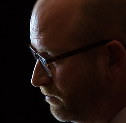 Westminster, London, March 27th 2017. Ahead of the Prime Minister triggering Article 50 next week, UKIP Leader Paul Nuttall sets out six key tests by which the country can judge Theresa May's Brexit negotiations in a keynote speech in London. PICTURED: Paul Nuttall. CREDIT: ©Paul Davey<br /> <br /> ©Paul Davey<br /> FOR LICENCING CONTACT: Paul Davey +44 (0) 7966 016 296 paul@pauldaveycreative.co.uk