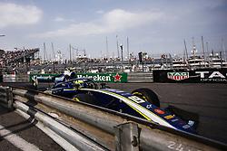 May 26, 2018 - Montecarlo, Monaco - 19 Lando NORRIS from Great Britain of CARLIN during the Monaco Formula Two - Race 2 Grand Prix at Monaco on 26th of May, 2018 in Montecarlo, Monaco. (Credit Image: © Xavier Bonilla/NurPhoto via ZUMA Press)