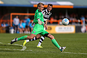 Braintree Town's goalkeeper Will Puddy(1) on loan from Bristol Rovers during the Vanarama National League match between Braintree Town and Forest Green Rovers at the Amlin Stadium, Braintree, United Kingdom on 24 September 2016. Photo by Shane Healey.