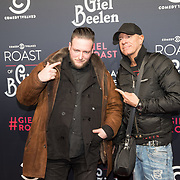 NLD/Amsterdam/20171207 - inloop The Roast of Giel Beelen, DJ Jean en ...........