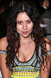 Eliza Doolittle at the Mark Fast show  at opening day of London Fashion Week for Autumn/Winter 2014 , Friday, 14th February 2014. Picture by Stephen Lock / i-Images