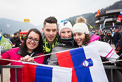 Fans during Ski Flying Hill Men's Individual Competition at Day 4 of FIS Ski Jumping World Cup Final 2017, on March 26, 2017 in Planica, Slovenia.Photo by Ziga Zupan / Sportida