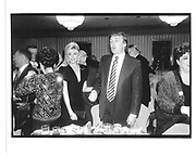 marla maples and Donald Trump at Joey adams birthday party 1991© Copyright Photograph by Dafydd Jones 66 Stockwell Park Rd. London SW9 0DA Tel 020 7733 0108 www.dafjones.com