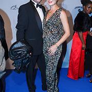 NLD/Amsterdam\/20131028 -Opening Amsterdam Film Week 2013, premiere 12 Years a Slave, Janna Fassaert en partner Mike Niemans