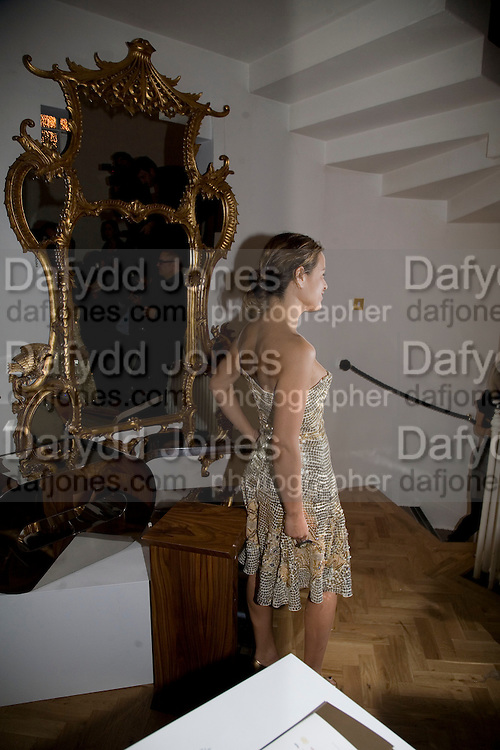 JADE JAGGER, TOD'S Art Plus Film Party 2008. Party to raise funds for the Whitechapel art Gallery.  One Marylebone Road, London NW1, 6 March, 8.30 - late<br /> *** Local Caption *** -DO NOT ARCHIVE-&copy; Copyright Photograph by Dafydd Jones. 248 Clapham Rd. London SW9 0PZ. Tel 0207 820 0771. www.dafjones.com.