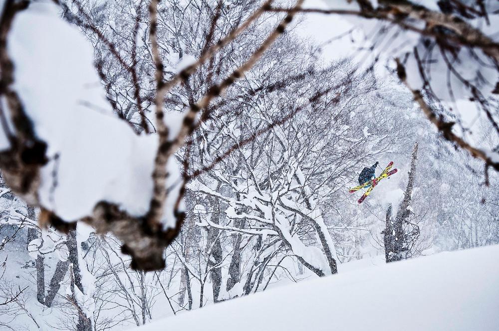 Skier: Sean Pettit<br /> Location: Hokkaido, Japan