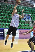 Sassari 14 Agosto 2012 - Qualificazioni Eurobasket 2013 -Allenamento<br /> Nella Foto : DAVID CHIOTTI<br /> Foto Ciamillo
