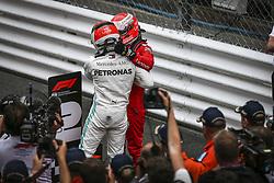 May 26, 2019 - Monte Carlo, Monaco - Motorsports: FIA Formula One World Championship 2019, Grand Prix of Monaco, ..#44 Lewis Hamilton (GBR, Mercedes AMG Petronas Motorsport), #5 Sebastian Vettel (GER, Scuderia Ferrari Mission Winnow) (Credit Image: © Hoch Zwei via ZUMA Wire)