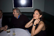 MICHAEL PROUDLOCK; LISA TSENG, Brompton Bar And Grill - launch party - celeb update<br /> Brompton Bar And Grill, 243 Brompton Road, London, SW3 11 March 2009 *** Local Caption *** -DO NOT ARCHIVE-© Copyright Photograph by Dafydd Jones. 248 Clapham Rd. London SW9 0PZ. Tel 0207 820 0771. www.dafjones.com.<br /> MICHAEL PROUDLOCK; LISA TSENG, Brompton Bar And Grill - launch party - celeb update<br /> Brompton Bar And Grill, 243 Brompton Road, London, SW3 11 March 2009