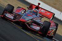 Sebastien Bourdais, GoPro Indy Grand Prix of Sonoma, Infineon Raceway, Sonoma, CA USA 08/25/13