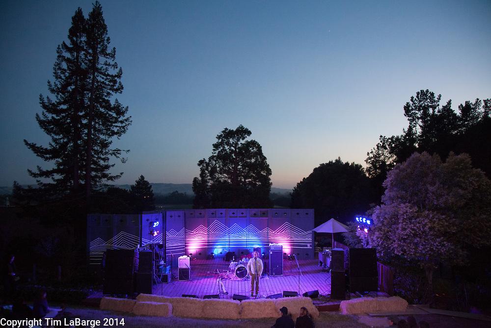 Jeff Bundschu at Huichica Music Festival 2014 held at Gunlach Bundschu Winery in Sonoma, CA. Photo © Tim LaBarge 2014
