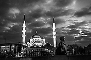 Istanbul street photography at night