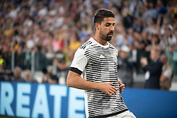 April 22, 2018 - Turin, Piedmont/Turin, Italy - Khedira Sami durig the Serie A match Juventus FC vs Napoli. Napoli won 0-1 at Allianz Stadium, in Turin, Italy 22nd april 2018 (Credit Image: © Alberto Gandolfo/Pacific Press via ZUMA Wire)