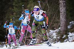 Miriam Goessner (GER) competes during Women 10 km Pursuit at day 3 of IBU Biathlon World Cup 2015/16 Pokljuka, on December 19, 2015 in Rudno polje, Pokljuka, Slovenia. Photo by Ziga Zupan / Sportida