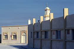 Islamic Mosque in Salwa, Saudi Arabia.