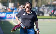 WASSENAAR - manager Madeleine Buise (HGC)  tijdens de hoofdklasse hockeywedstrijd HGC-Den Bosch (3-2). COPYRIGHT KOEN SUYK