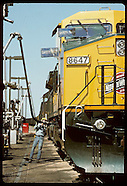 03: RAILROAD REFUELING, WOMAN HOSTLER