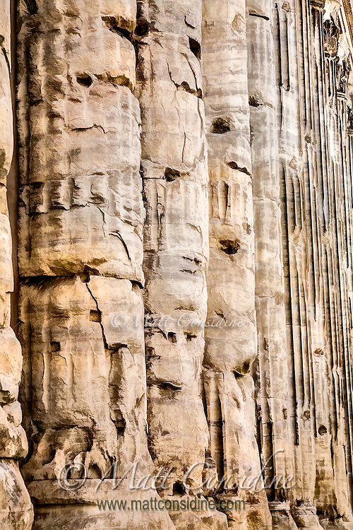 The vicissitudes of time and cannon fire have left their mark on these ancient Roman columns. (Photo Image by Travel Photographer Matt Considine )