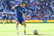 Chelsea Midfielder Pedro (11) in action during the FA Community Shield match between Chelsea and Manchester City at Wembley Stadium, London, England on 5 August 2018. Picture by Stephen Wright.