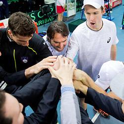 20140201: SLO, Tennis - Davis Cup, Slovenia vs Portugal, day 2