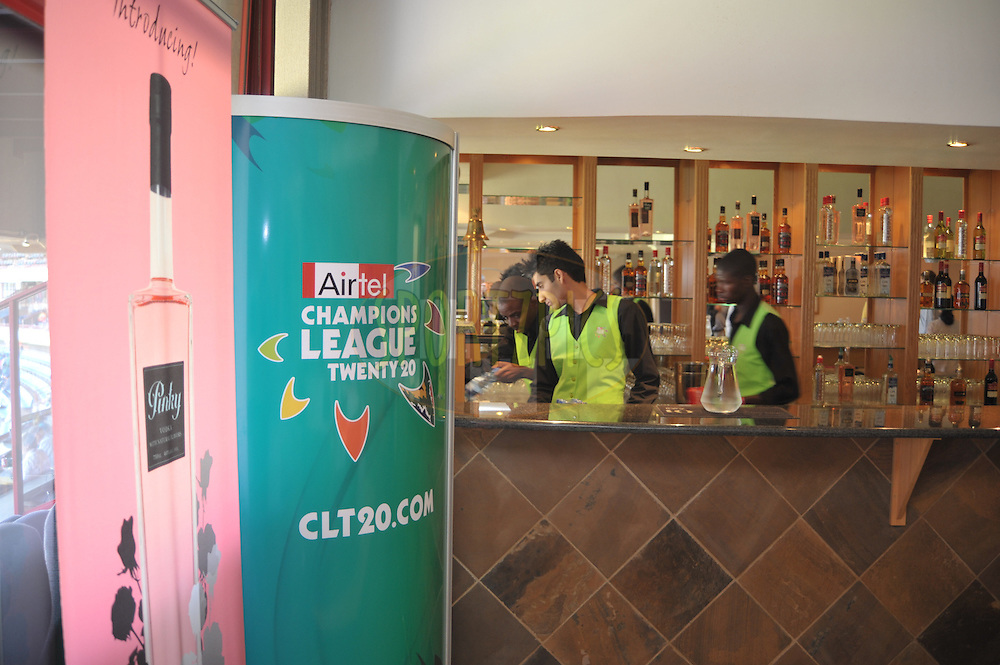 Staff prepare for match 4 of the Airtel CLT20 held between the Lions and The Redbacks at Supersport Park in Centurion on the 12 September 2010..Photo by: Michael Edwards/SPORTZPICS/CLT20