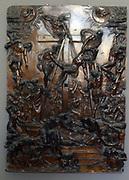 Baccio Bandinelli,  Florence, 1493 - Florence 1560.  La Descente de Croix.  Bronze