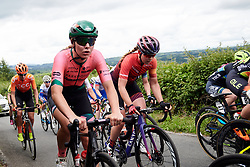 Lisa Klein (GER) on the Bethlehem Hill climb during Stage 6 of 2019 OVO Women's Tour, a 125.9 km road race from Carmarthen to Pembrey, United Kingdom on June 15, 2019. Photo by Sean Robinson/velofocus.com
