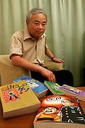 KEIJI NAKAZAWA.  Hiroshima A-Bomb survivor. Author of the Manga GEN.