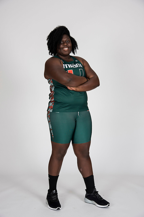 2016-17 Miami Hurricanes Men's & Women's Track & Field Photo Day