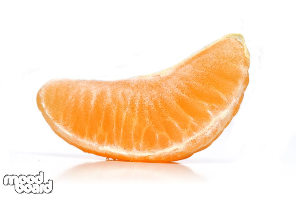 Mandarin on white background- studio shot