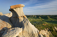 Badlands sandstone formations Theodore Rossevelt National Park, North Dakota