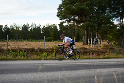 Emma Norsgaard Jorgensen (DEN) at Postnord Vårgårda West Sweden Road Race 2018, a 141 km road race in Vårgårda, Sweden on August 13, 2018. Photo by Sean Robinson/velofocus.com