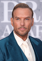 Matt Goss attending the Brit Awards 2019 at the O2 Arena, London. Photo credit should read: Doug Peters/EMPICS. EDITORIAL USE ONLY