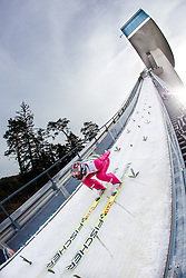 03.01.2014, Bergisel Schanze, Innsbruck, AUT, FIS Ski Sprung Weltcup, 62. Vierschanzentournee, Training, im Bild Anders Bardal (NOR) // Anders Bardal (NOR) during practice Jump of 62nd Four Hills Tournament of FIS Ski Jumping World Cup at the Bergisel Schanze, Innsbruck, <br /> Austria on 2014/01/03. EXPA Pictures © 2014, PhotoCredit: EXPA/ JFK