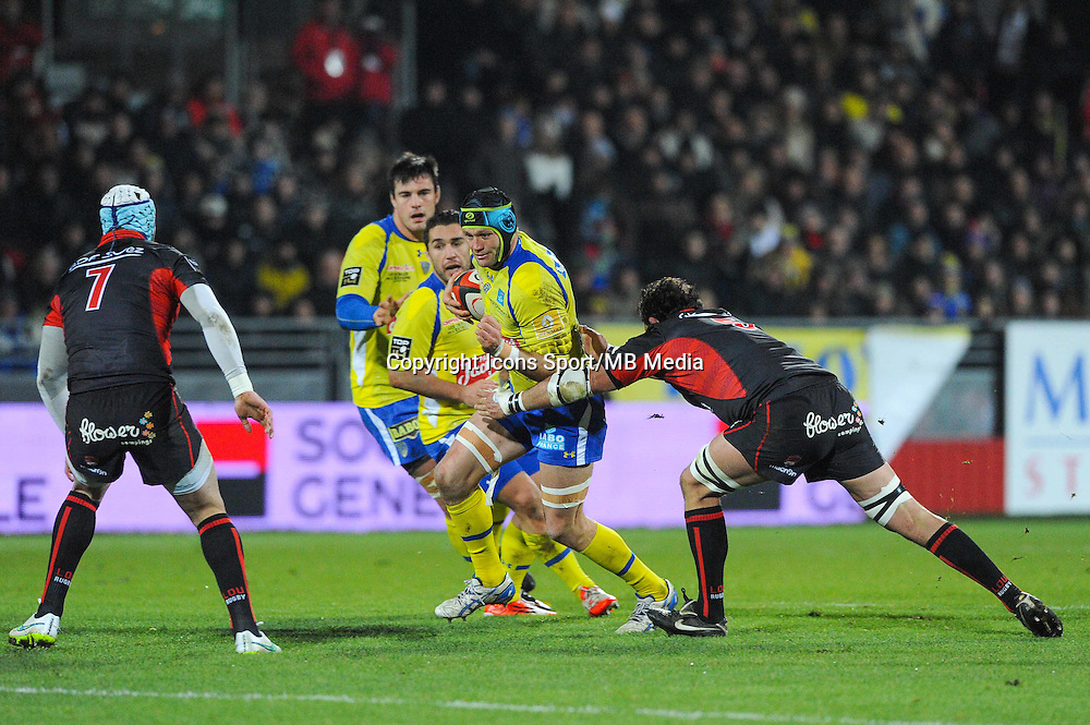 Julien BONNAIRE - 28.12.2014 - Lyon Olympique / Clermont - 14eme journee de Top 14 <br /> Photo :  Jean Paul Thomas / Icon Sport