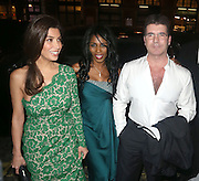 11.APRIL.2013. LONDON<br /> <br /> SIMON COWELL, MEZHGAN HUSSAINY AND SINITTA ARRIVING AT THE LANDMARK HOTEL IN LONDON FOR THE MY BEAUTIFUL FUNDRAISING BALL.<br /> <br /> BYLINE: EDBIMAGEARCHIVE.CO.UK<br /> <br /> *THIS IMAGE IS STRICTLY FOR UK NEWSPAPERS AND MAGAZINES ONLY*<br /> *FOR WORLD WIDE SALES AND WEB USE PLEASE CONTACT EDBIMAGEARCHIVE - 0208 954 5968*