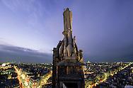 France. Paris. elevated view. saint jaques watching paris ,. vu de la tour st Jacques