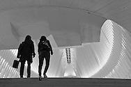 Santiago Calatrava's Oculus of the World Trade Center transportation hub at Battery Park City.