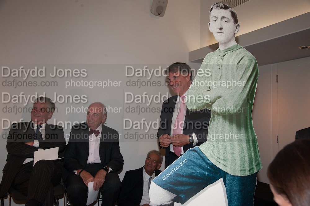 DAVID BERNSTEIN;; LORD YOUNG; DAVID DEIN, Four Four Jew: Football, Fans and Faith. Jewish Museum, London. 9 October 2013