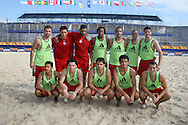 Footbal-FIFA Beach Soccer World Cup 2006 - Group B-CAN -Officall Training- Rio de Janeiro, Brazil - 01/11/2006.<br />Mandatory Credit: FIFA/Ricardo Ayres